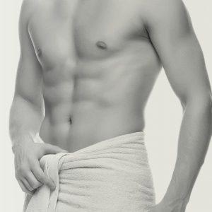 depilación masculina pectoral